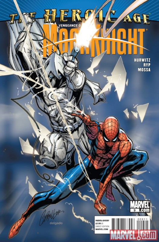 VENGEANCE OF MOON KNIGHT #9 cover art by J. Scott Campbell ...