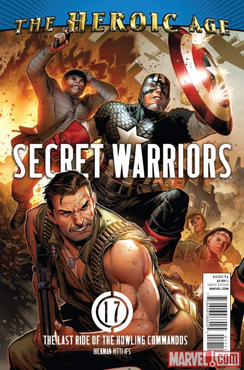 SECRET WARRIORS #17 cover by Jim Cheung