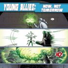 YOUNG ALLIES #2 preview art by David Baldeon