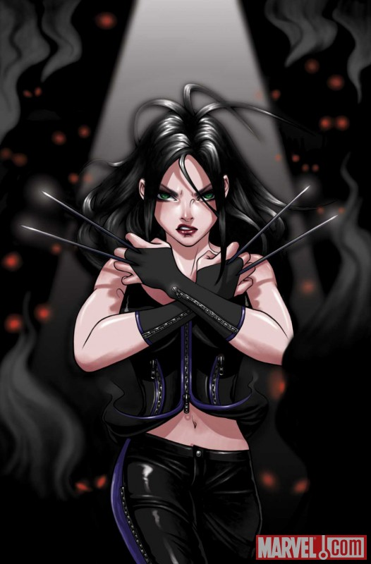 X-23 #2 cover by Danni Luo