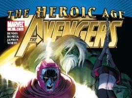 AVENGERS #3 (2010) cover by John Romita Jr.