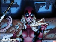 Lady Deadpool (2010) #1 Wallpaper