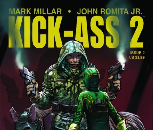 KICK ASS 2 #2 cover
