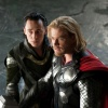 Chris Hemsworth and Tom Hiddleston star as Thor and Loki in Thor