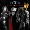 Thor: Heroes &amp; Villains Book Cover