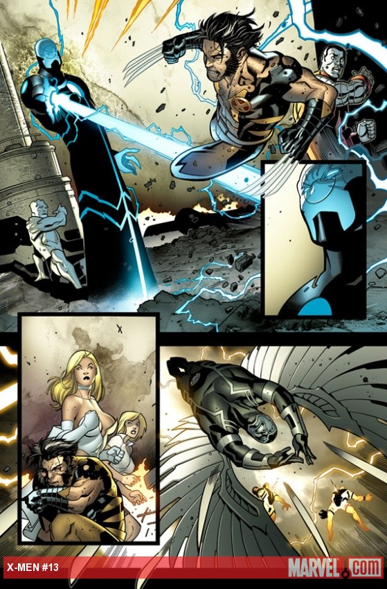 X-Men (2010) #13 preview art by Paco Medina