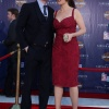 Chris Evans and Hayley Atwell on the Captain America: The First Avenger red carpet