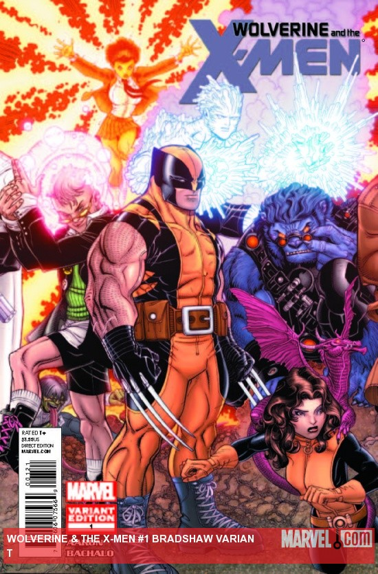 WOLVERINE & THE X-MEN 1 BRADSHAW VARIANT (XREGG)