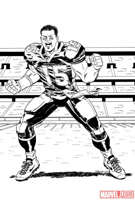 detail Comic Watch:  Its Tebow Time!