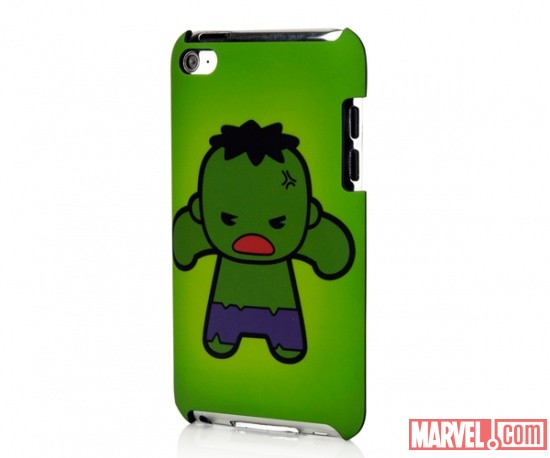 iPod touch 4 Marvel Kawaii Line - Hulk