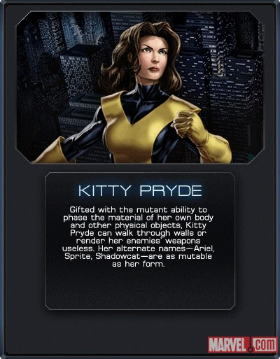 Kitty Pryde in Marvel: Avengers Alliance