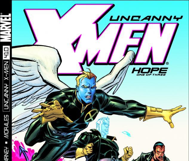 Uncanny X-Men #410 Cover