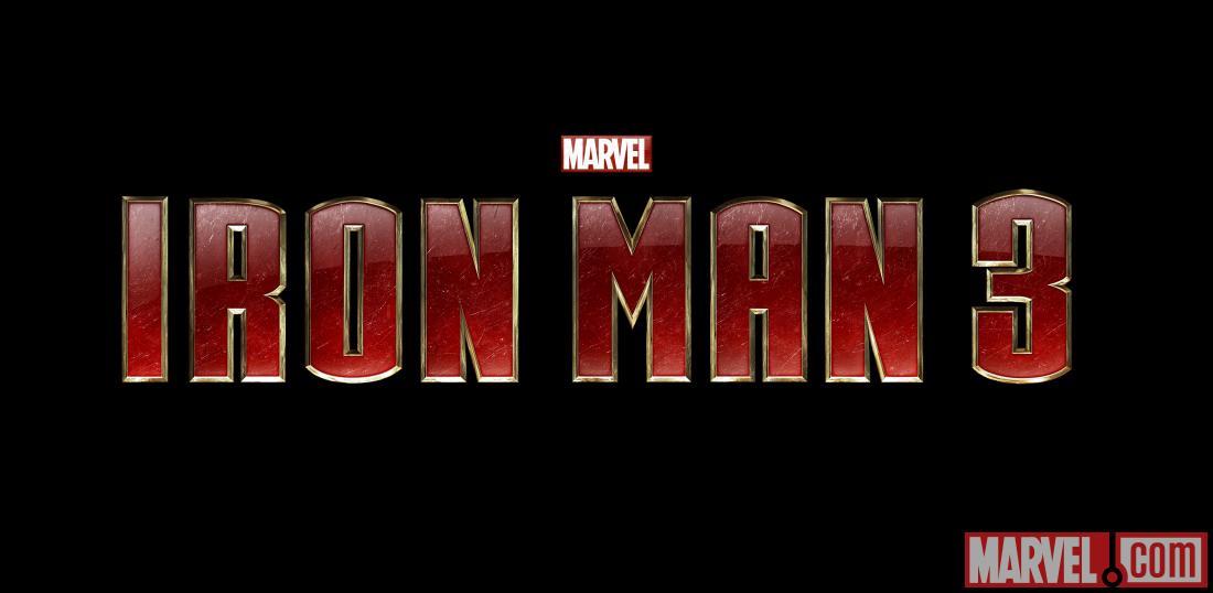 Iron Man Comic Logo Iron Man 3 Official Logo