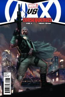 Avengers Vs. X-Men: Consequences #5  (Molina Variant)