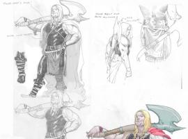 Thor: God of Thunder Sketchbook Pt. 1