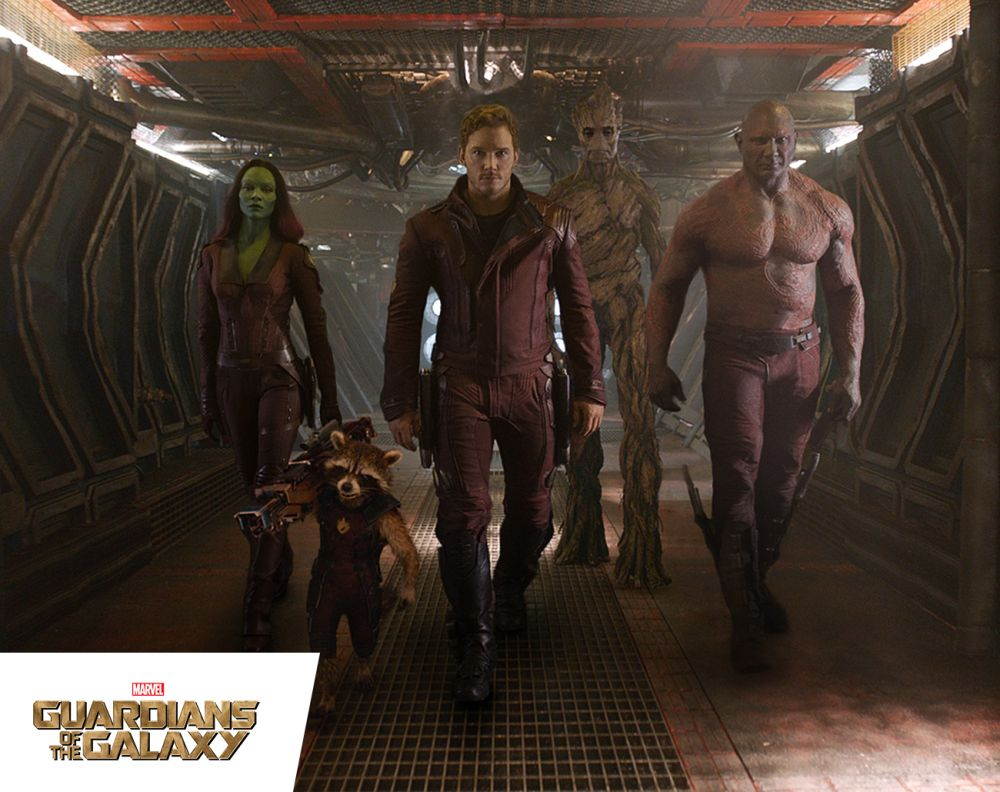 Marvel's Guardians of the Galaxy big time buzz home
