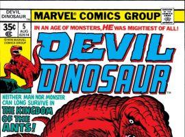DEVIL DINOSAUR #5 COVER