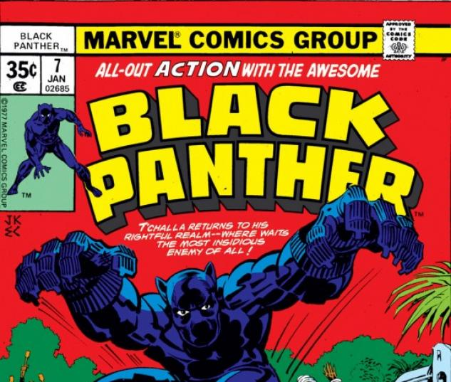 BLACK PANTHER #7