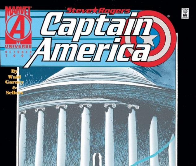 CAPTAIN AMERICA #444 COVER