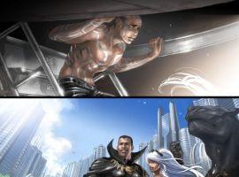 X-MEN: DIVIDED WE STAND BOOK 1 Interior Art