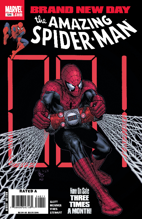 AMAZING SPIDER-MAN #548