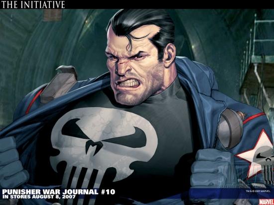 Punisher War Journal (1988) #10 Wallpaper