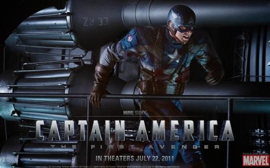 Captain America: The First Avenger Movie Wallpaper #2