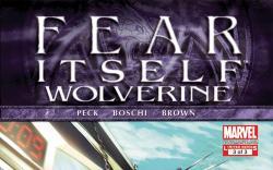 Fear Itself: Wolverine (2011) #3