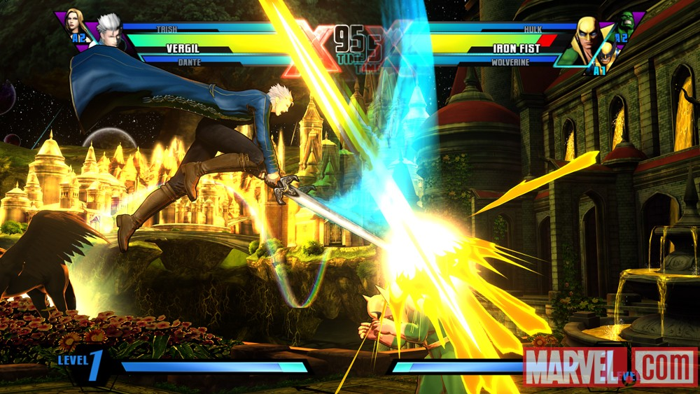 Ultimate Marvel vs. Capcom 3 Vergil Screenshot 7