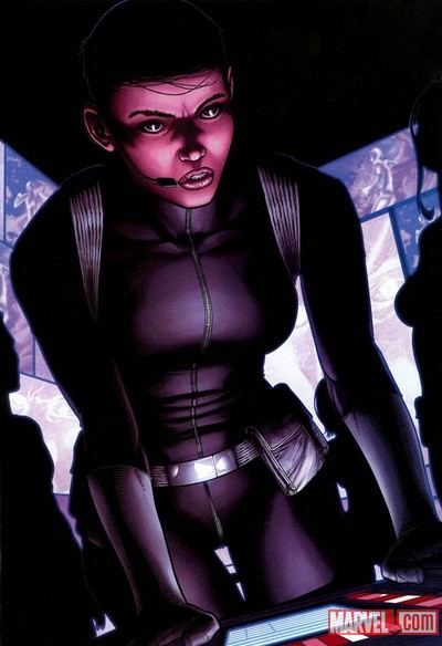 Maria Hill by Steve McNiven