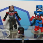 Captain America and Miles Morales Minimates from Diamond Select Toys