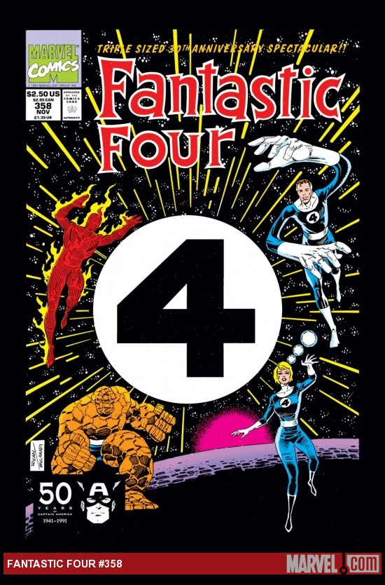 Fantastic Four (1964) #358