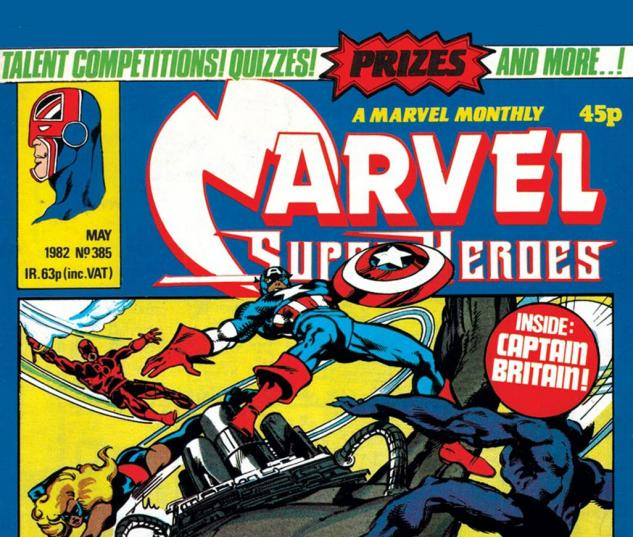 Marvel Super-Heroes (1967) #385 Cover