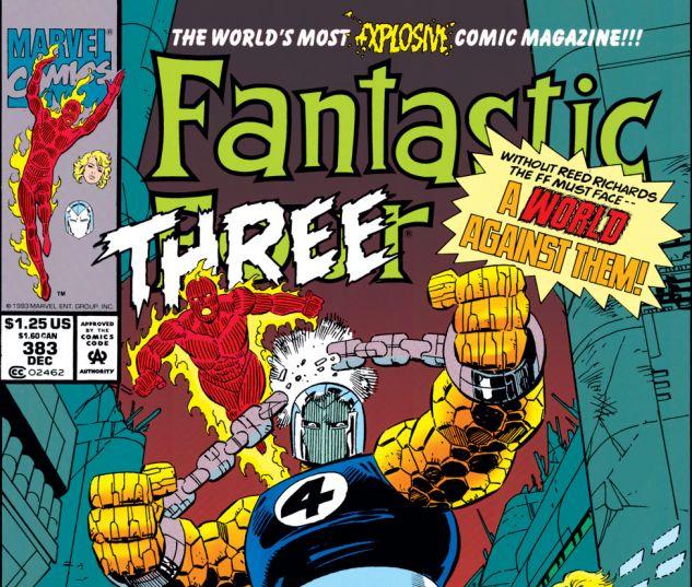 Fantastic Four (1961) #383 Cover
