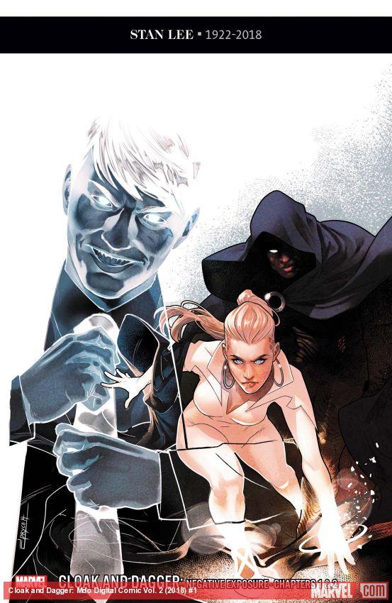 Cloak and Dagger: Marvel Digital Original - Negative Exposure (2018) #1