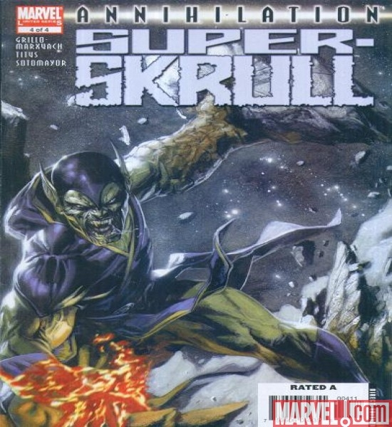 ANNIHILATION: SUPER-SKRULL #4