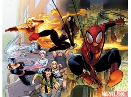 ULTIMATE COMICS SPIDER-MAN #1 cover by David Lafuente