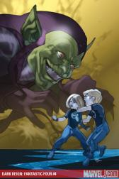 Dark Reign: Fantastic Four #4 