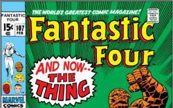 FANTASTIC FOUR #107