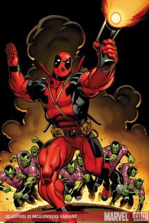 Deadpool (2008) #2 (MCGUINNESS VARIANT)
