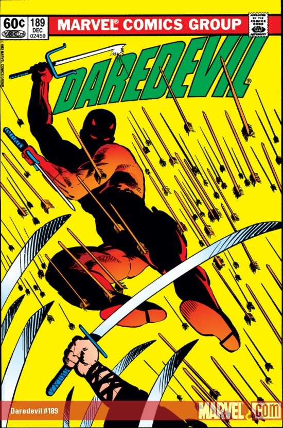 DAREDEVIL #189 COVER