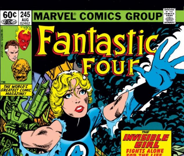 FANTASTIC FOUR #245
