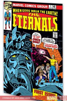 Eternals by Jack Kirby Book 1 (Trade Paperback)