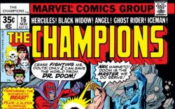 CHAMPIONS #16 COVER