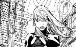 Black Widow (2010) #1 (2ND PRINTING VARIANT)