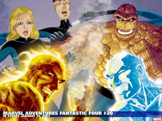 Marvel Adventures Fantastic Four (2005) #20 Wallpaper