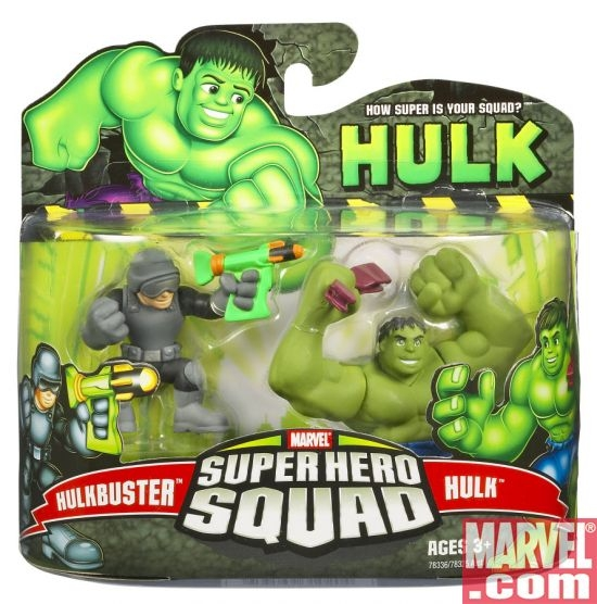 Super Hero Squad: Hulk and Hulkbuster