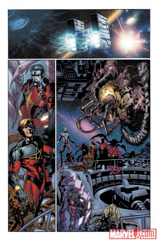 THE THANOS IMPERATIVE #4 preview art by Miguel Sepulveda 1