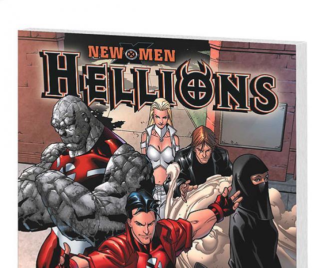 NEW X-MEN: HELLIONS (2007) COVER