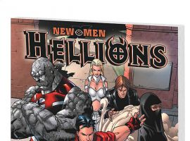 NEW X-MEN: HELLIONS (2007) COVER